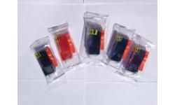Storkøb - 3 Sæt PGI 525 BK & CLI 526 BK,C,M,Y, kompatible patroner m/chip, 15 stk.