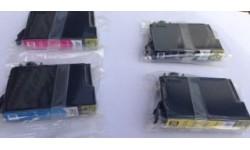 Storkøb - 3 Sæt (12 stk.) 18XL BK,C,M,Y, Kompatible blækpatroner