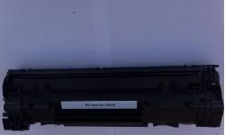CB 436A BK, kompatibel toner