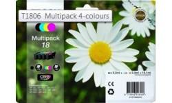 Epson T1806 Multipak 4 farver, originale patroner